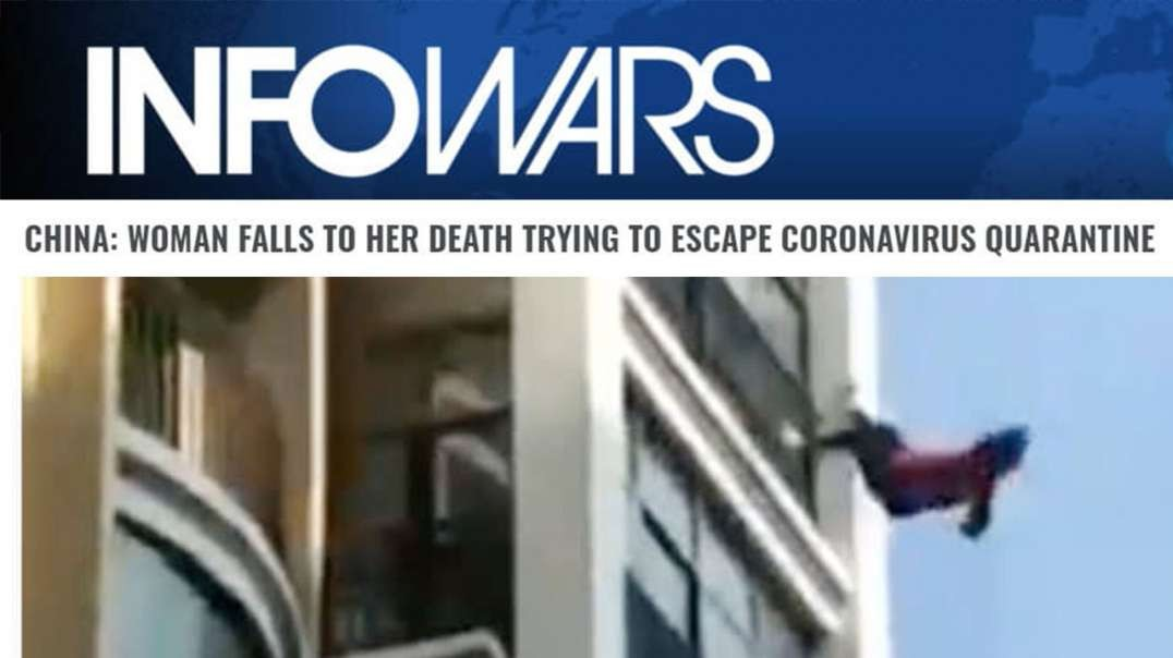 VIDEO: Woman Falls To Her Death Amid Coronavirus