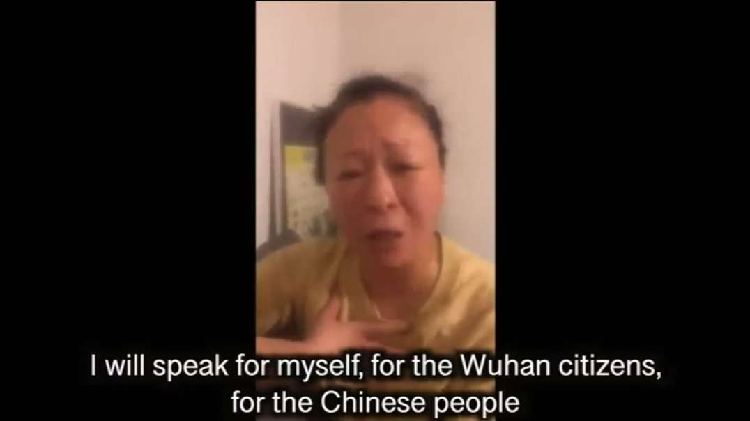 Tearful Wuhan Mom: This is How Revolutions Start