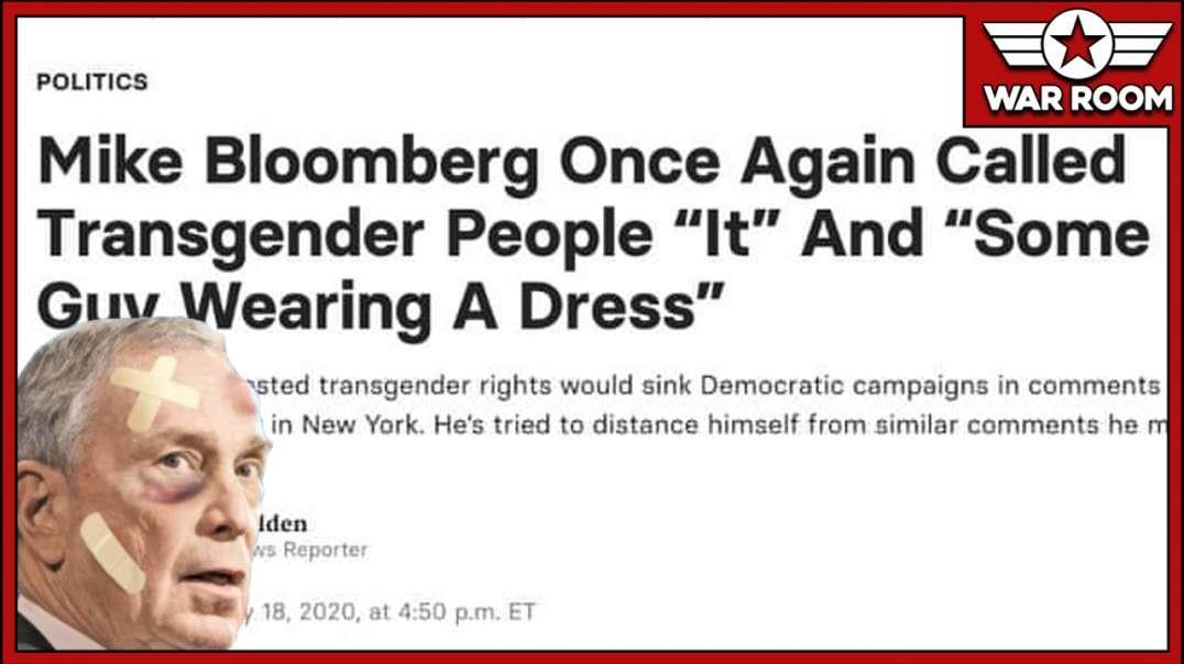 Bloomberg Under Fire For Rejecting Democrat Narrative On Transgenderism