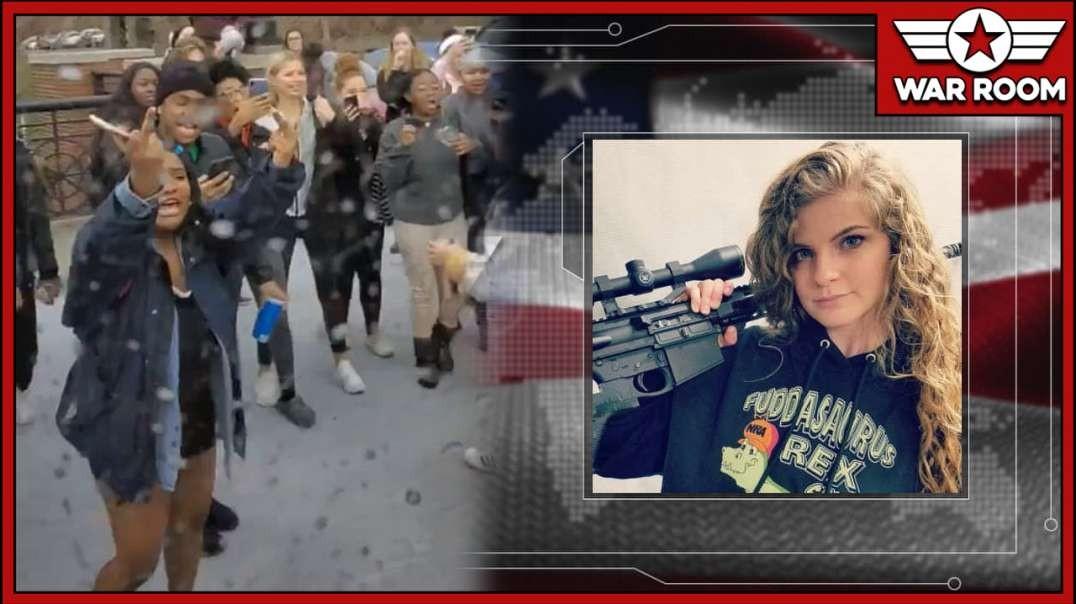 Kaitlin Bennett Attacked At Ohio University As Police Look On