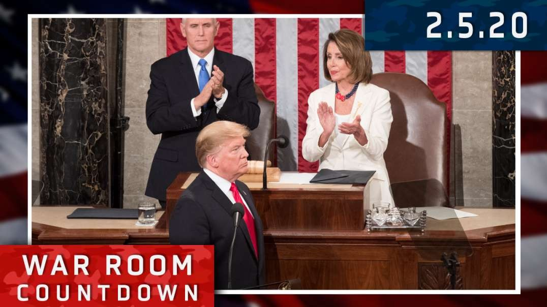 Countdown: President Trump Delivers State Of The Union