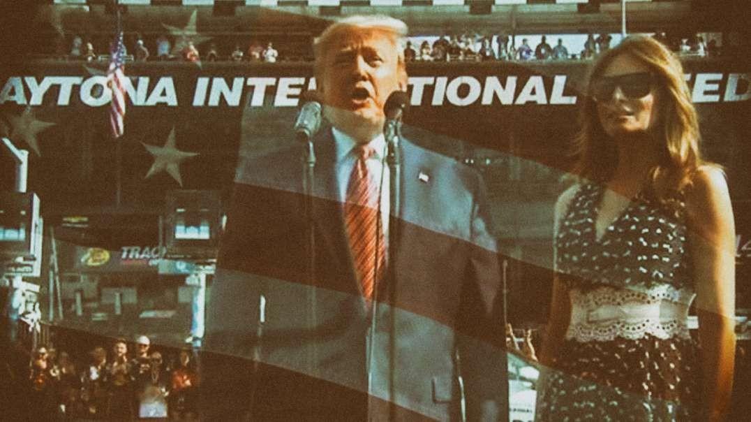 Grand Marshal Trump Rocks Daytona
