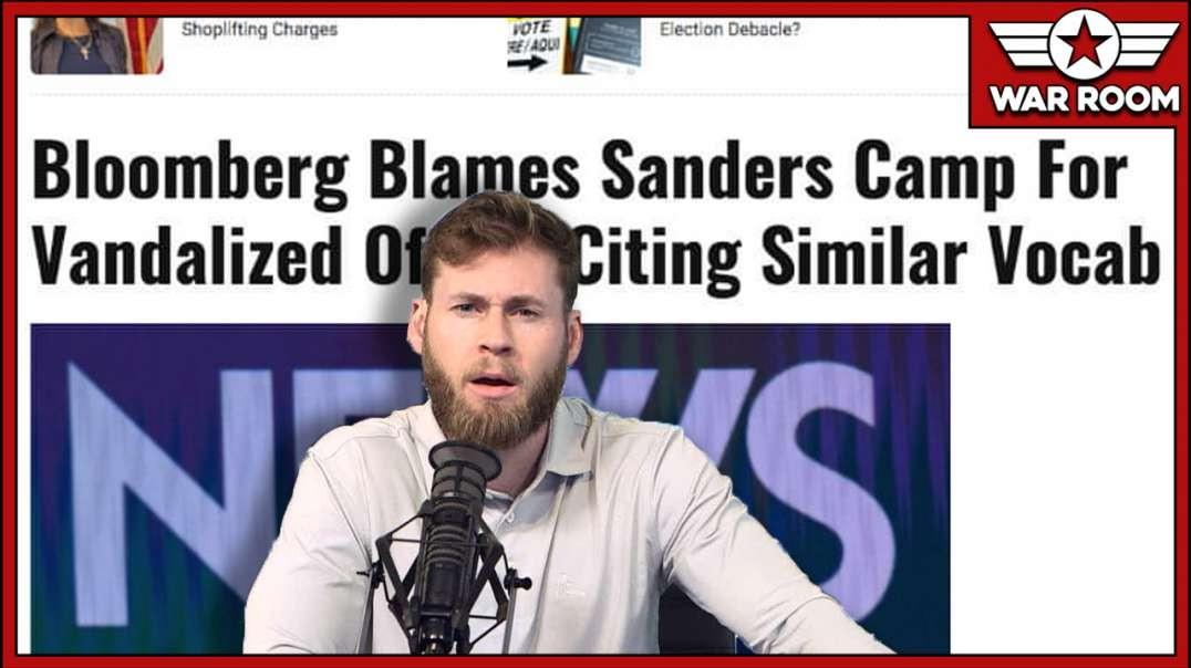 Bernie Sanders Refuses To Condemn Political Violence
