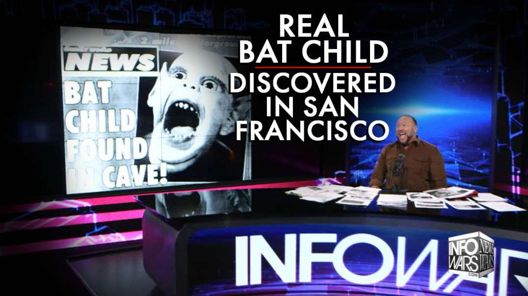 World Shocked As Real Bat Child Discovered In SF