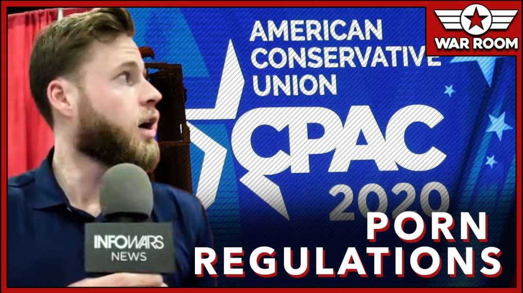 CPAC Panelist Discusses regulation Of Porn On The Internet