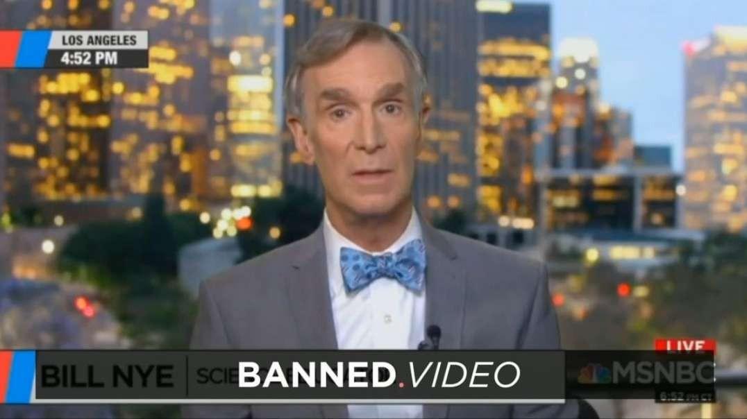 Bill Nye & Climate Lies