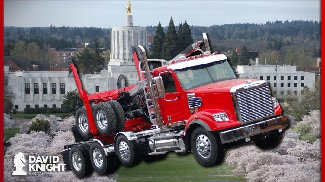 OR Truckers Rally Against Dems Banning Timber Jobs