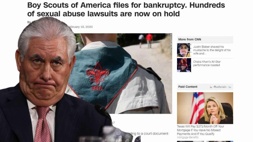 Rex Tillerson's Agenda Bankrupts Boy Scouts of America