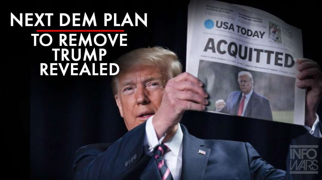 Next Democrat Plan To Remove Trump Revealed