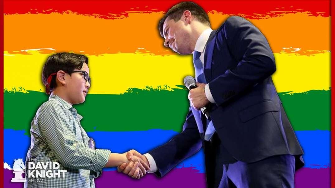 Shameless: Booty Uses Child to Sell LGBT Pedo-Agenda