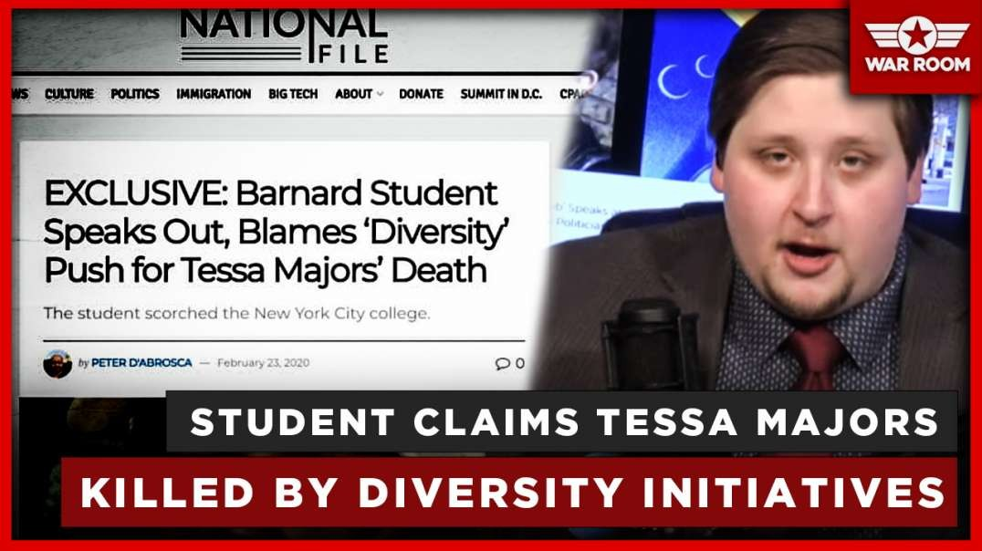 Student Claims Barnard College's Tessa Majors Was Killed By Diversity Initiatives