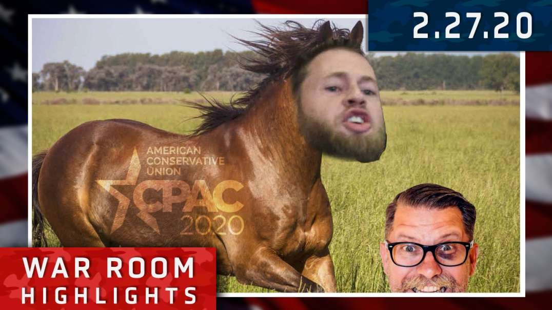Highlights* - Infowars Dominates CPAC 2020!