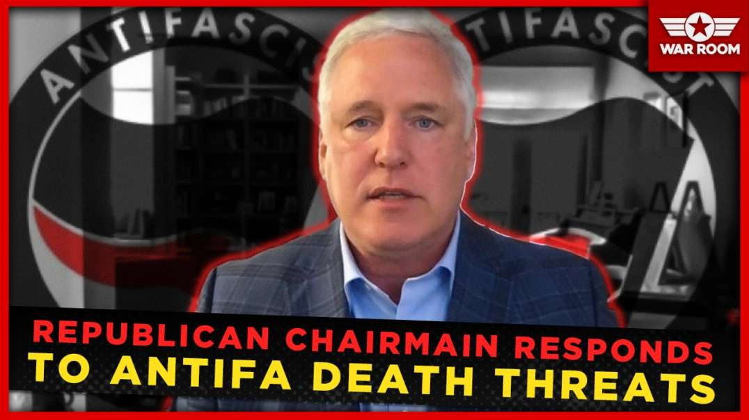 Republican Chairman Responds To Death Threats From ANTIFA Thug In San Francisco