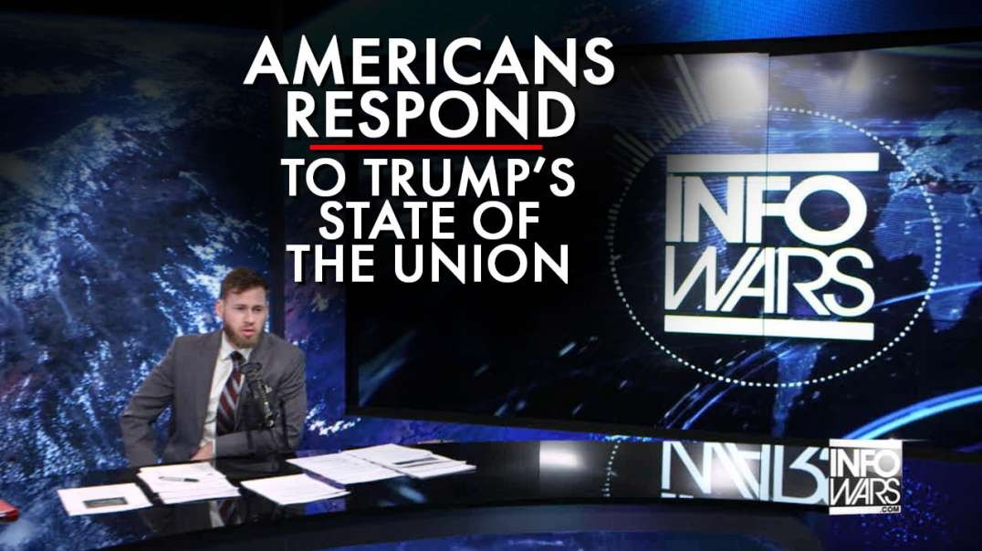 Americans Respond To President Trump's State Of The Union