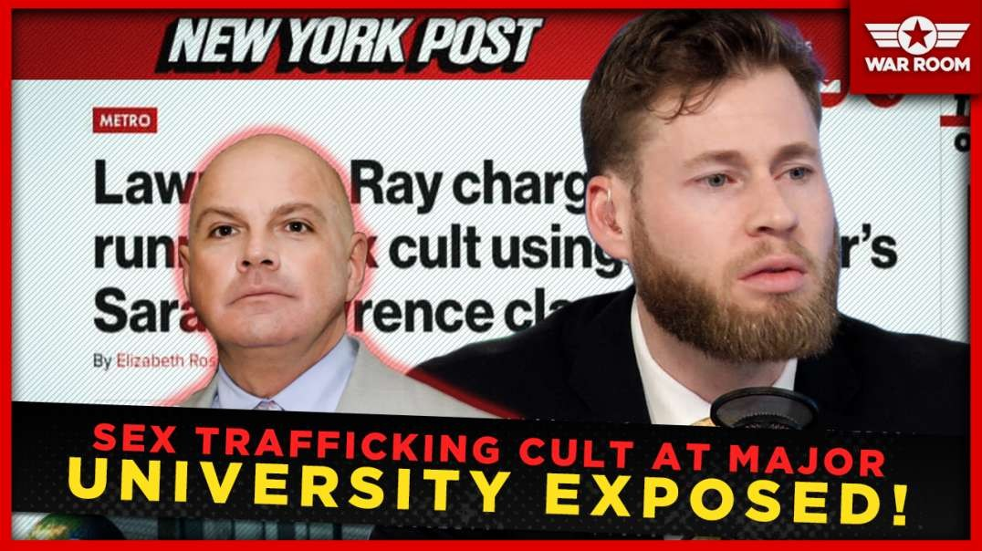 Sex Trafficking Cult At Major University Exposed And Indicted!