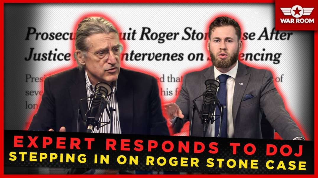Expert Responds To DOJ Stepping In On Roger Stone Case