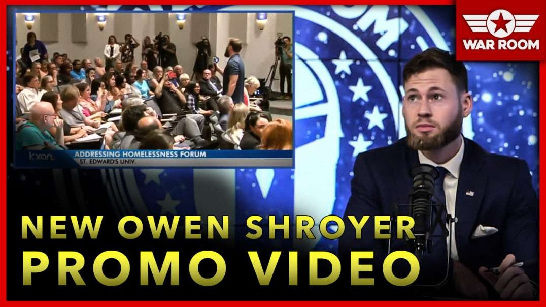 New Promo: Owen Shroyer Takes On Corrupt Politicians Face To Face