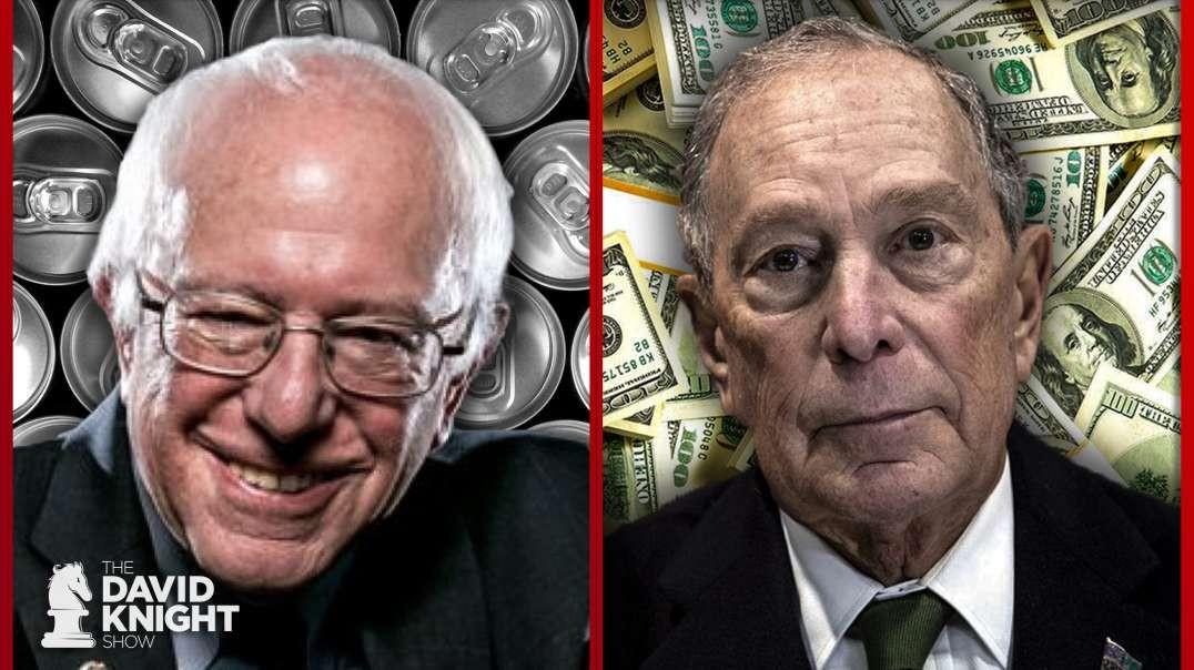 Bernie's Booze vs Bloomberg's Billions