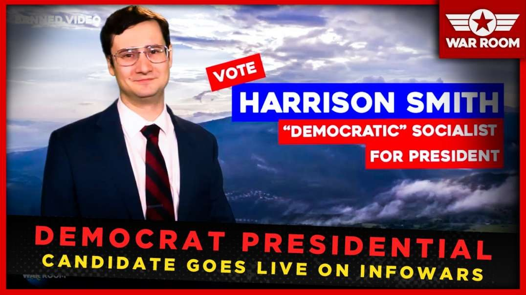 Democrat Presidential Candidate Goes Live On Infowars