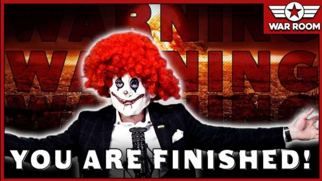 Lefto The Clown Warns America: You are Finished!