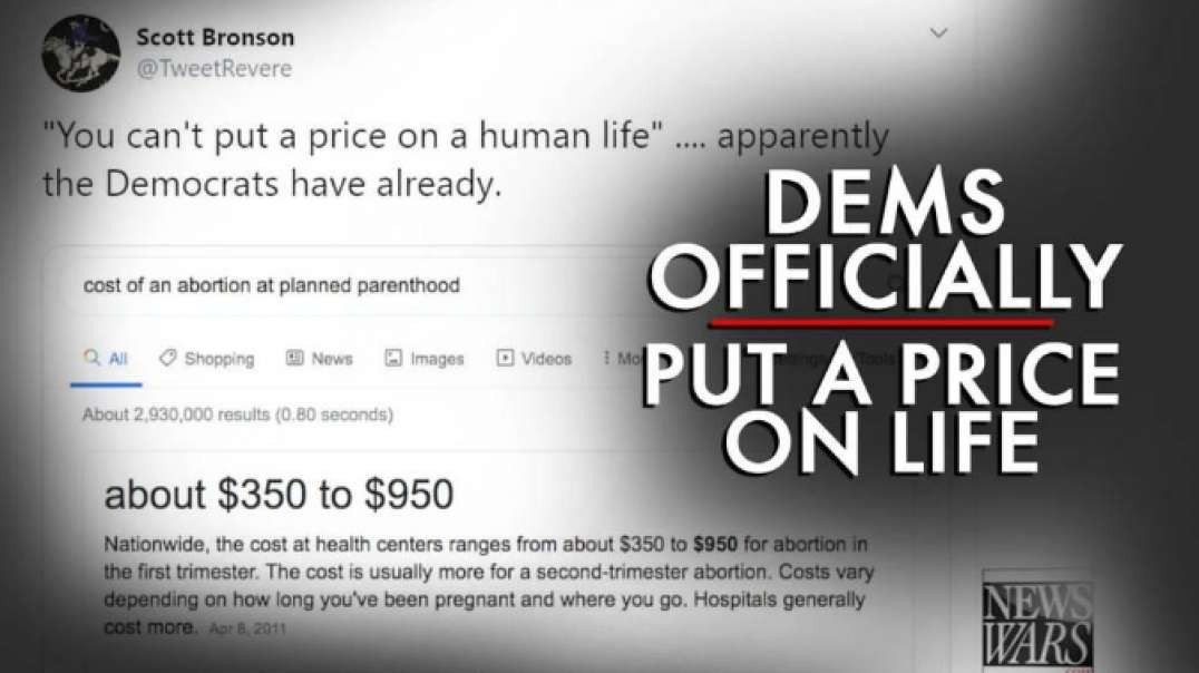 Democrats Officially Put a Price on Life