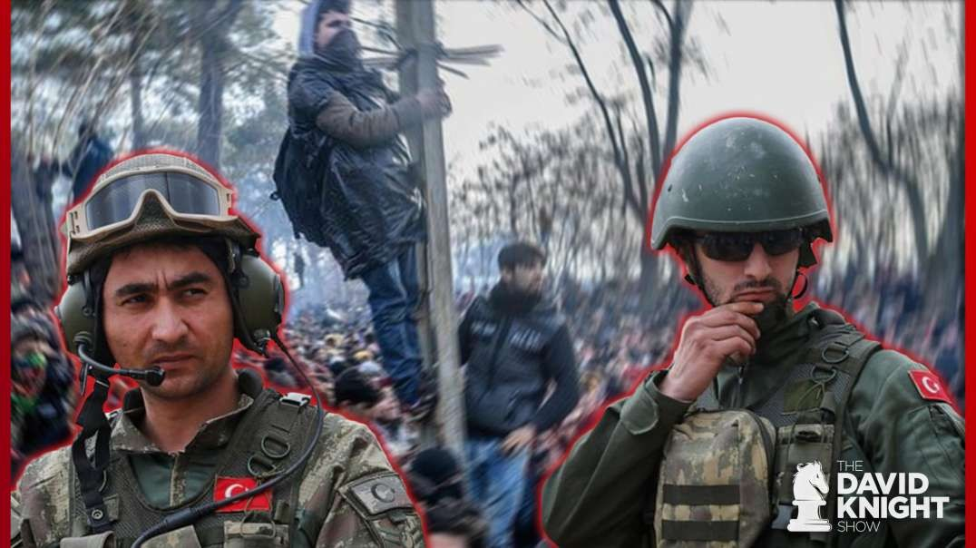 Turks Invade Greece, Blackmail NATO to Establish Caliphate in Syria