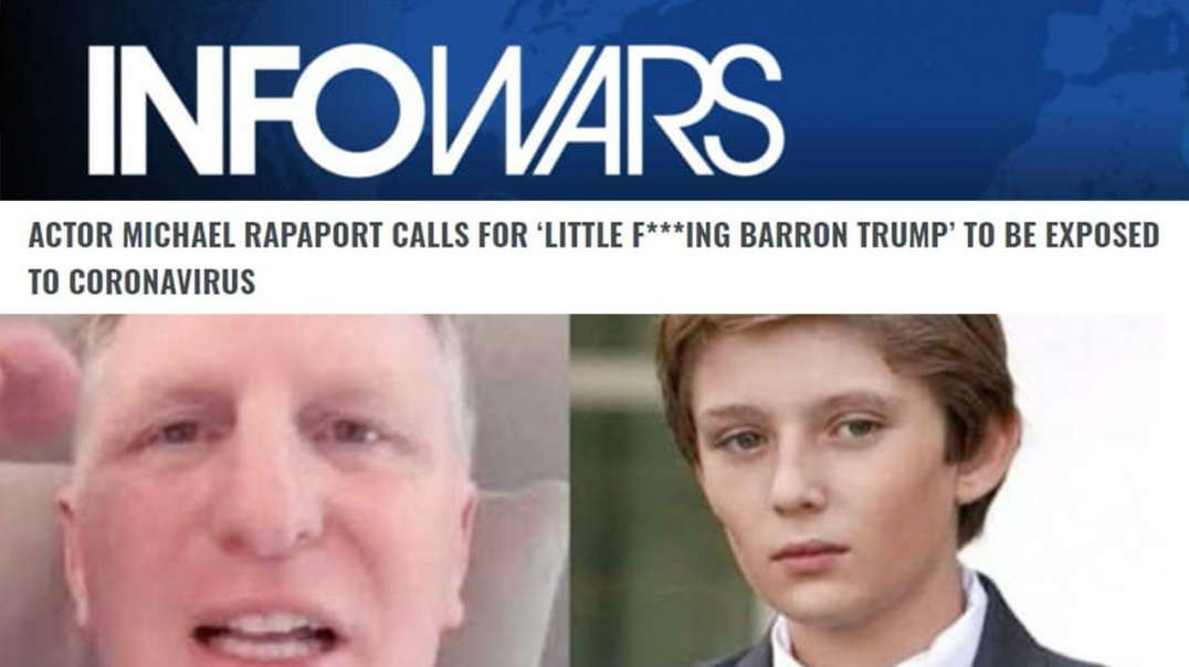 Witless Hollywood Goblin Demands Barron Trump Face Coronavirus Exposure