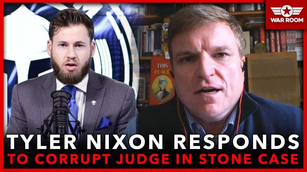 Tyler Nixon Responds To Latest From Corrupt Judge In Roger Stone Case