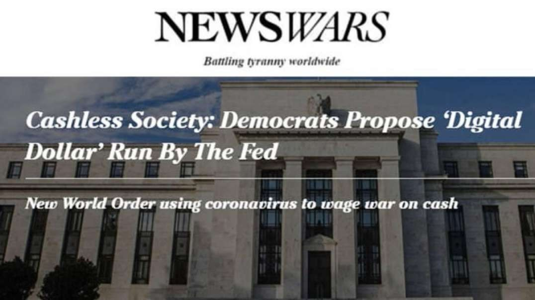 Private Federal Reserve Using Coronavirus Crisis To Launch Mark Of The Beast Digital Currency
