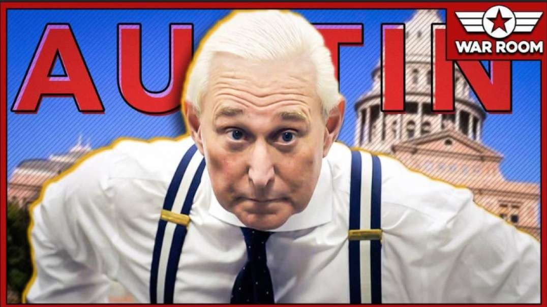 Roger Stone Lashes Out At Austin Texas Leadership