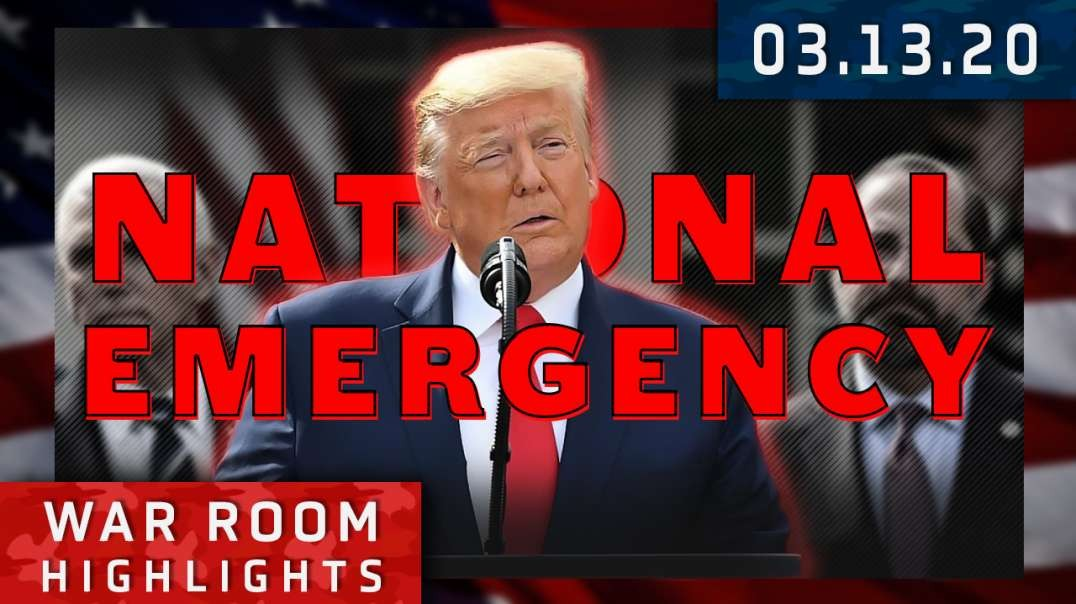 Highlights* - Friday The Thirteenth: Trump Declares National Emergency