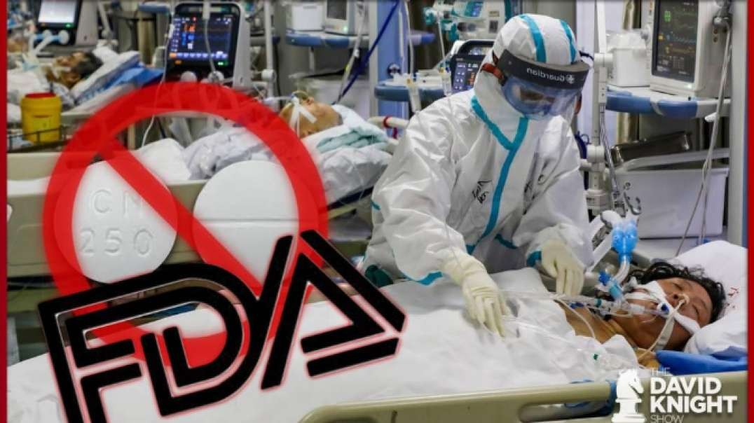 FDA Blocks Medical Supplies & 76 Yr Old Malaria Drug