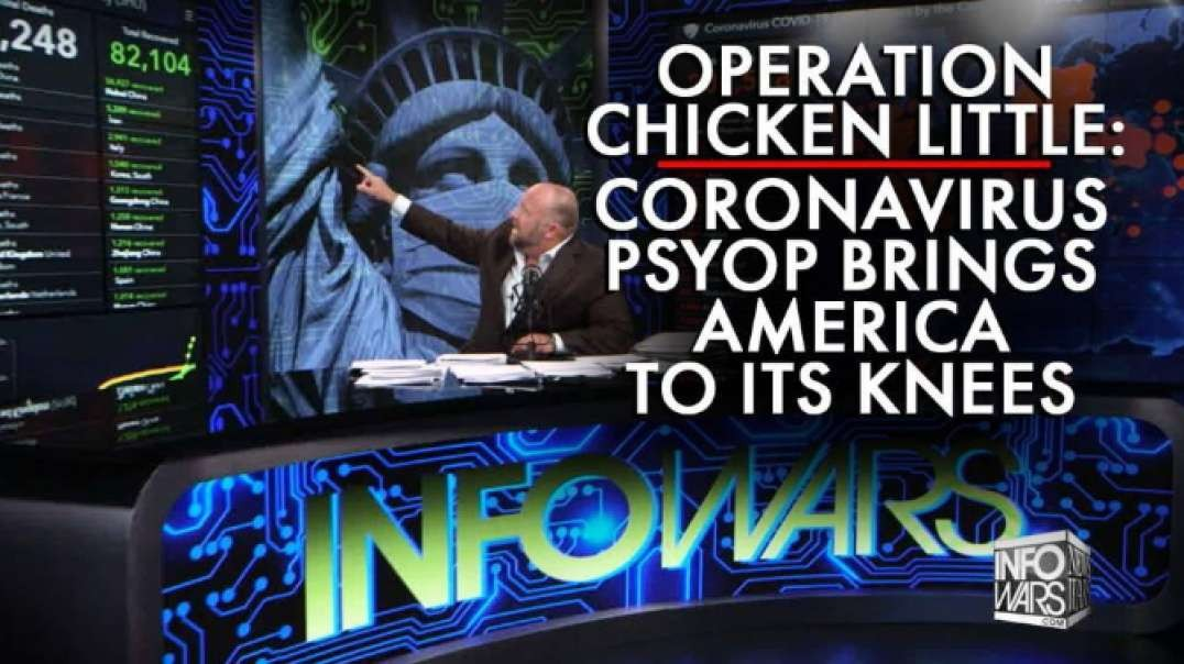 Operation Chicken Little: Coronavirus Psyop Brings America To It's Knees