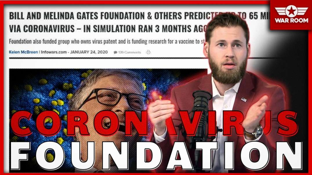 Bill And Melinda Gates Foundation Involvement In Coronavirus