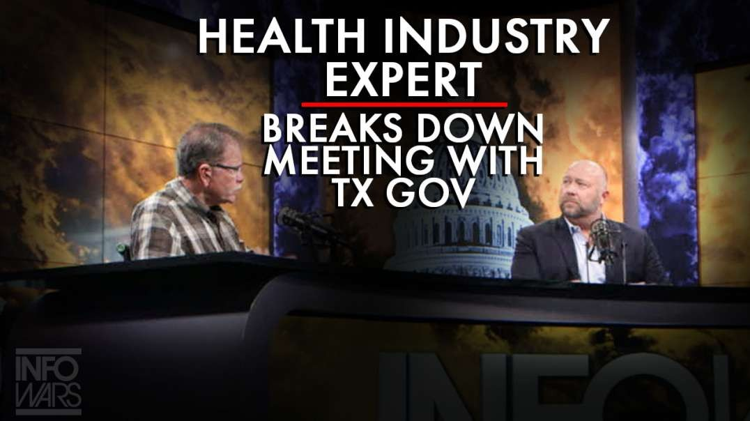 Health Industry Expert Breaks Down Meeting With Texas Governor Over Coronavirus.mp4