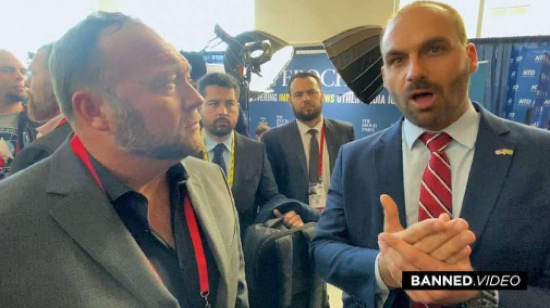 President Bolsonaro's Son Talks With Infowars About Global Awakening