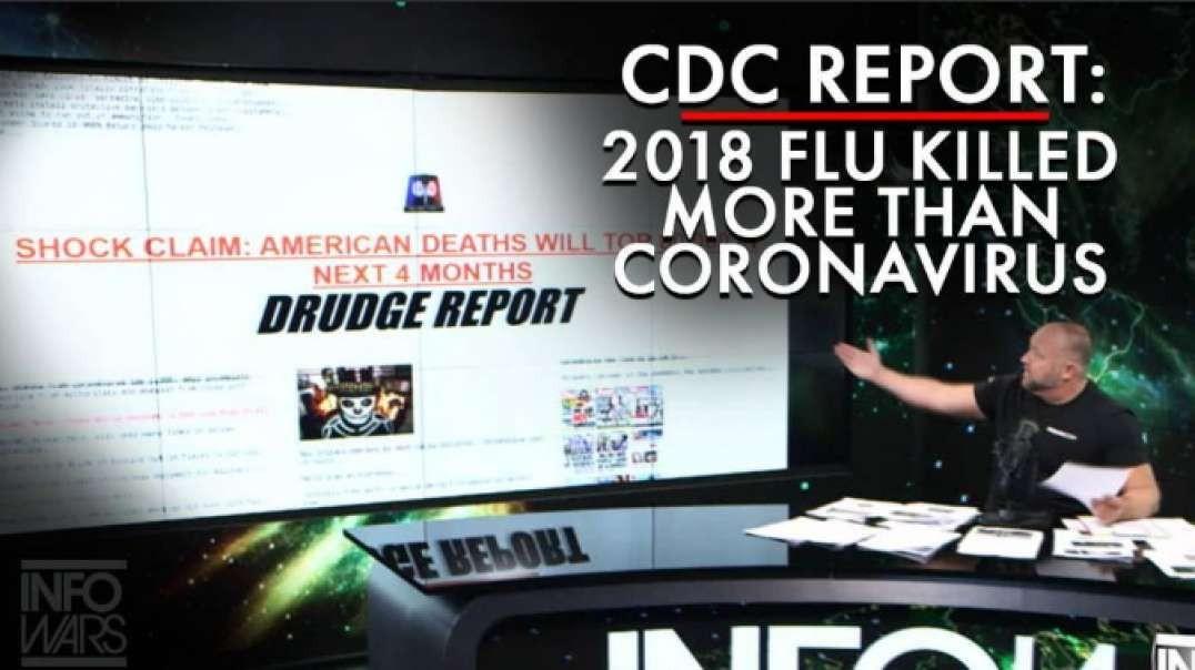 CDC Says 2018 Flu Killed More Than Coronavirus Will