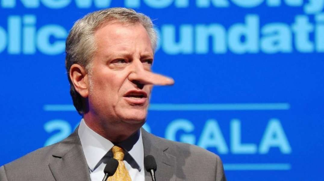 """De Blasio Caught In Massive Lie """"Trump not lifting a finger for New York"""""""