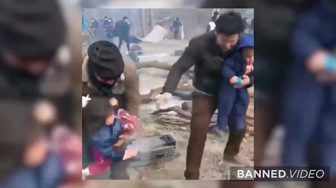 Turkey Launches Invasion of Europe Using Children As Human Shields!