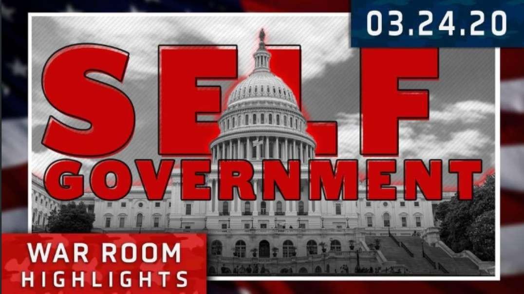 Highlights* - Coronavirus Is Killing Self Government