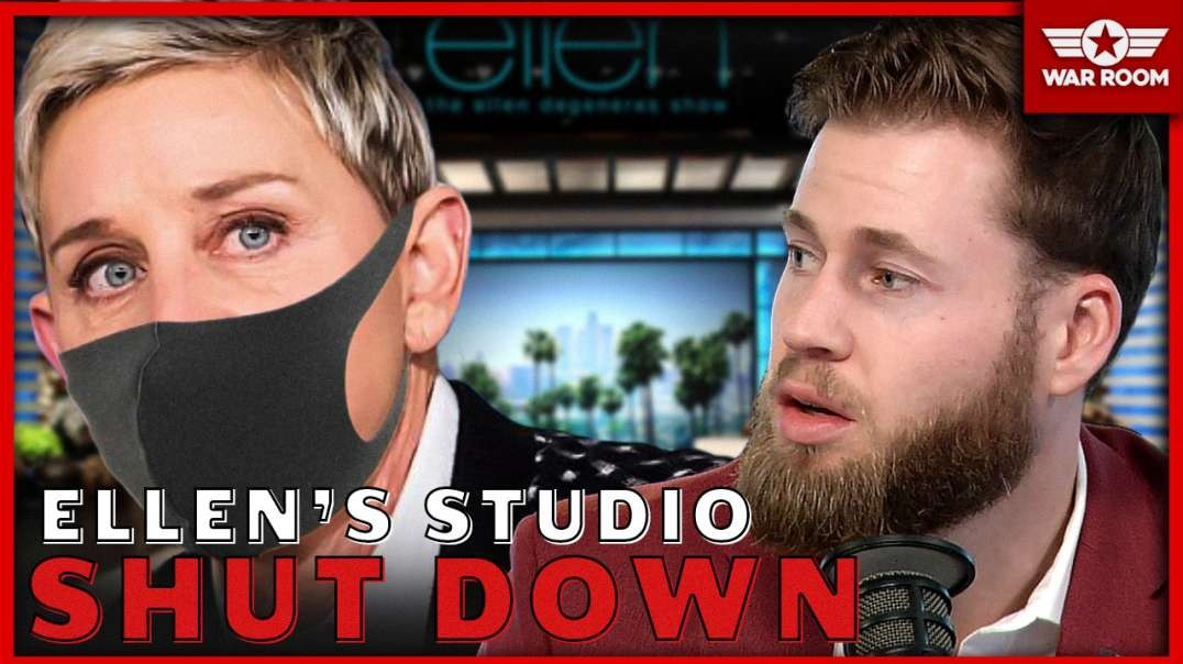 BREAKING: Ellen Degeneres Studio Shut Down For Coronavirus