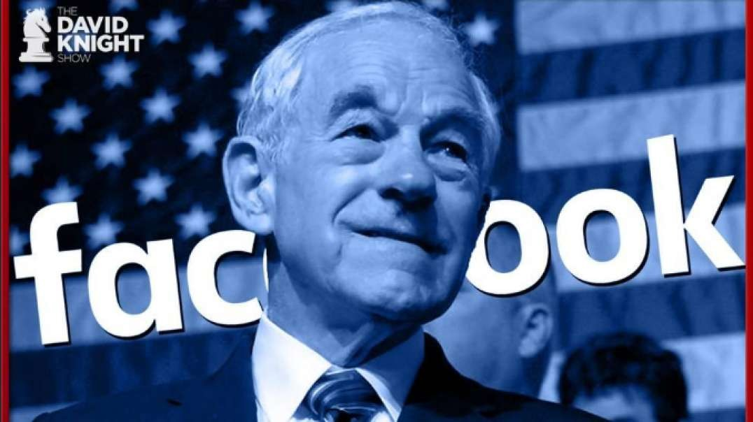 Ron Paul Censored by Facebook for Telling Truth About COVID19
