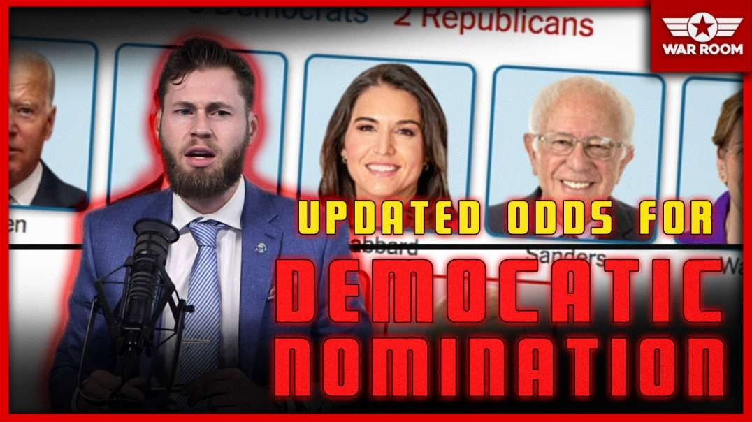Updated Odds For Democratic Nomination