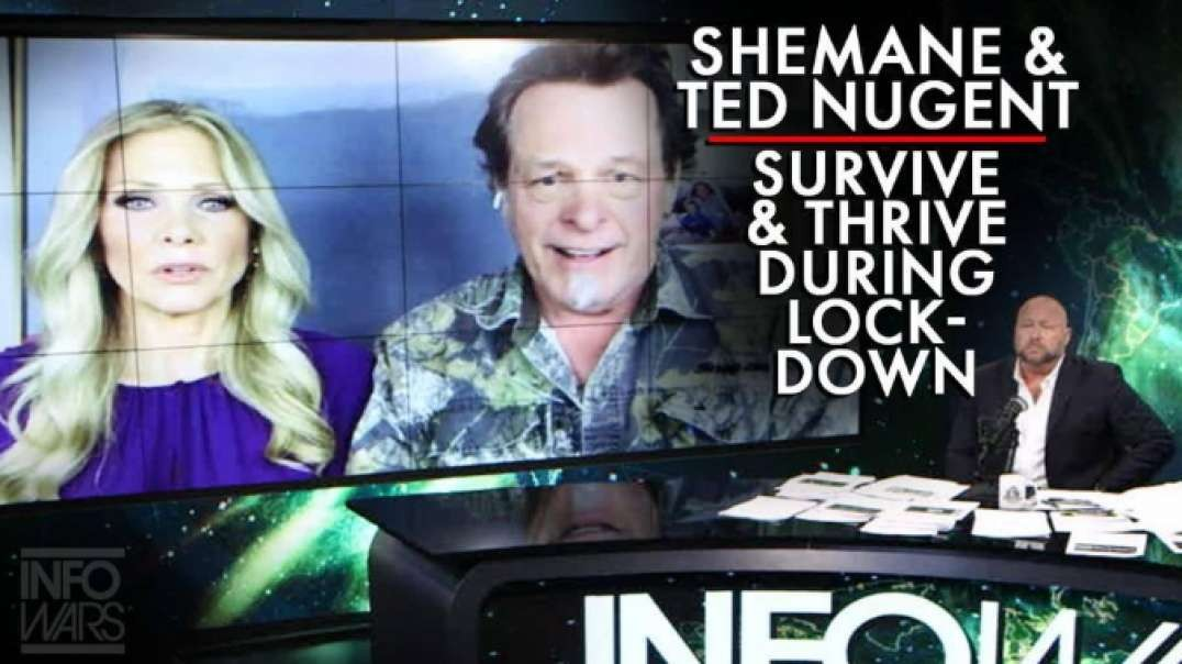 POWERFUL! Ted Nugent And Wife Shemane Talk How To Survive And Thrive During The China Virus Lockdown