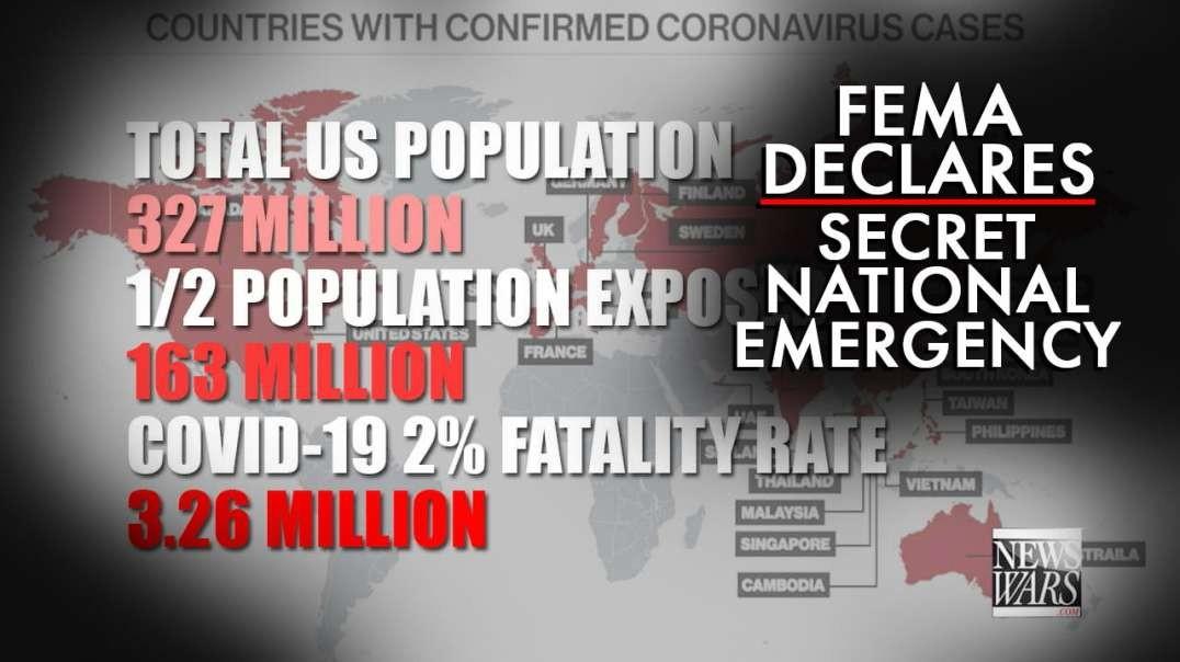 EXCLUSIVE: FEMA Declares Secret National Emergency Ahead Of Coronavirus Pandemic