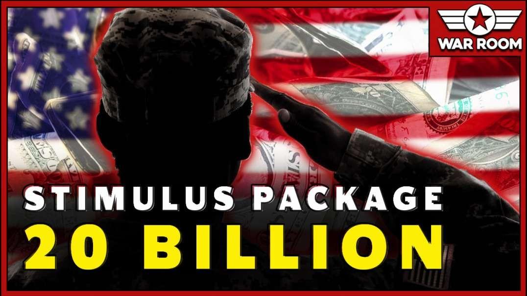 Stimulus Package Includes 20 Billion For Veteran Affairs
