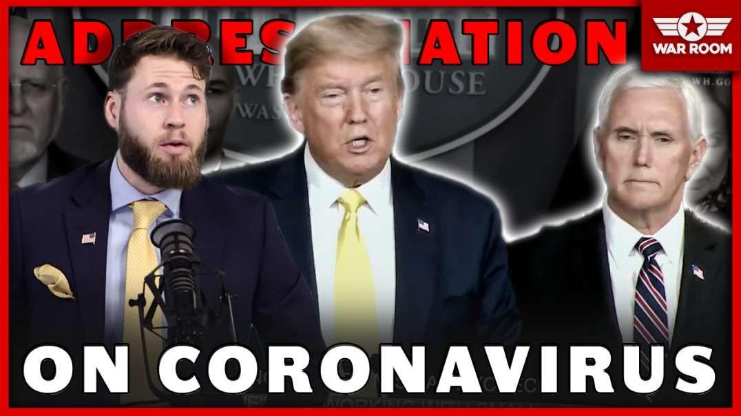 Trump And Pence Address Nation On Coronavirus