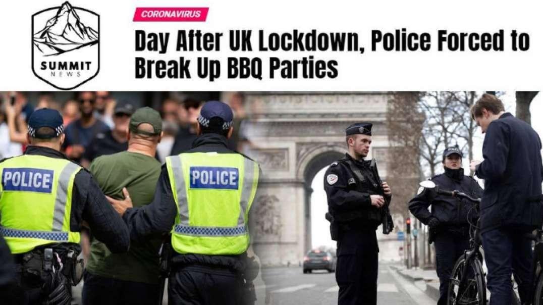 Brits Ignore Coronavirus Lockdown As Police Struggle To Enforce Quarantine In Paris