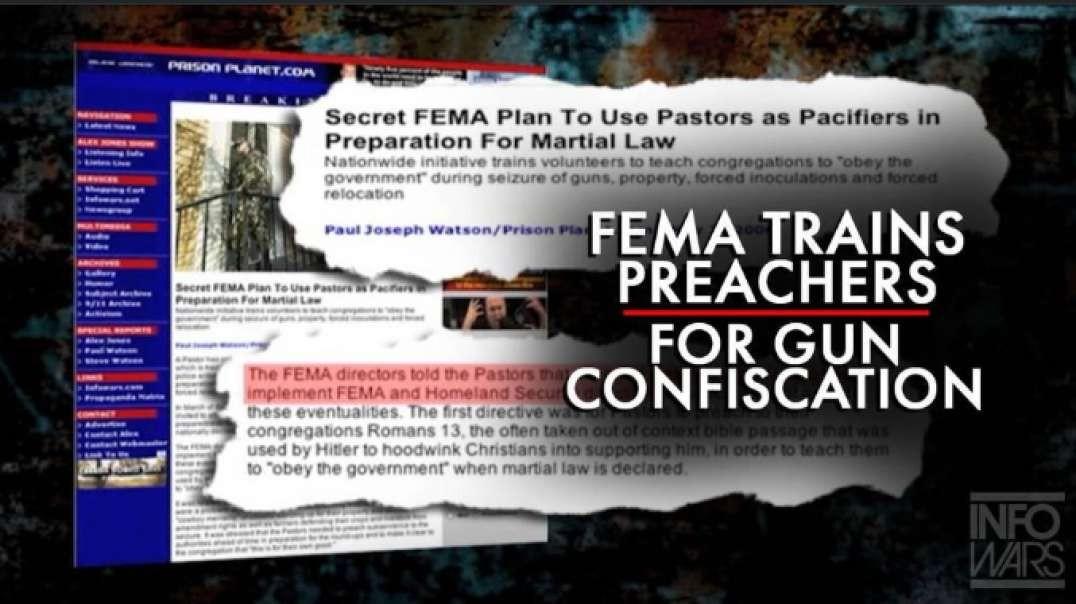 VIDEO: FEMA Trains Preachers for Gun Confiscation