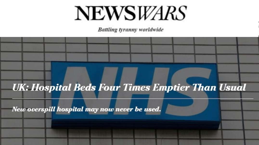 Hospitals Are Emptier Than Before as Reports Claim They Are Overrun